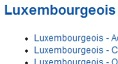 >Exercices luxembourgeois